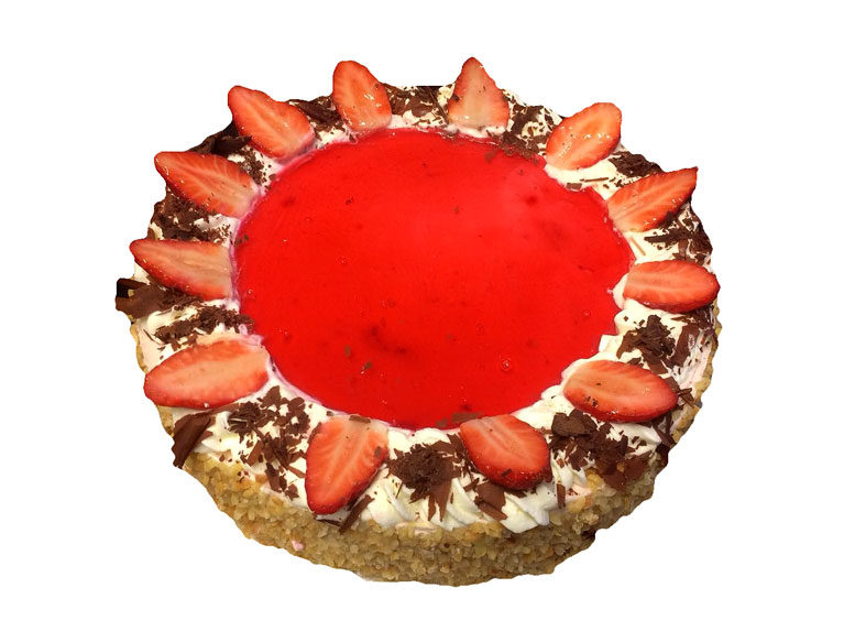 Erdbeer Quark Torte 88 Nowak Konditorei Und Backerei Bio